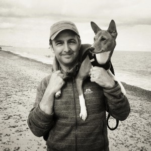 Today - Me and my Basenji 'Dottie'
