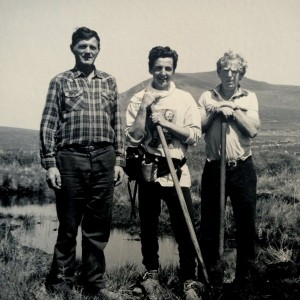 Me and Peat-cutters, Ireland 1998