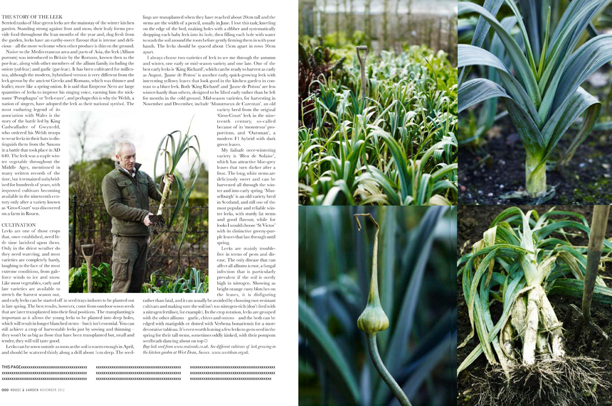 Kitchen Garden Magazine The Kitchen Garden House And Garden Magazine